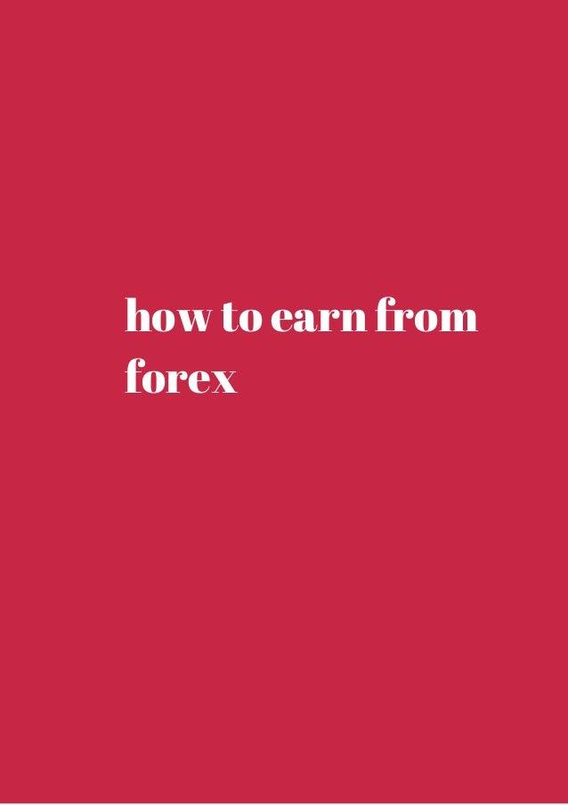 Earn by forex