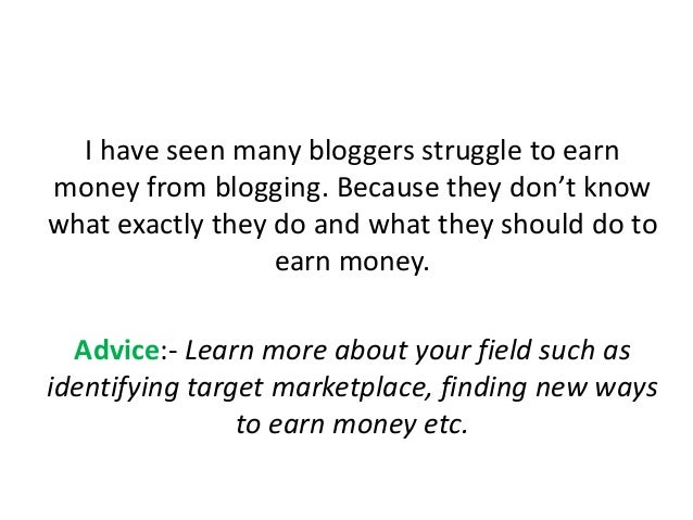I have seen many bloggers struggle to earn money from blogging. Because they don't know what exactly they do and what they...