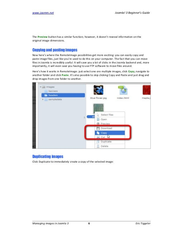 joomla swivel pics throughout article