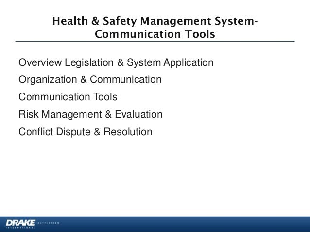 how to effectively communicate occupational health