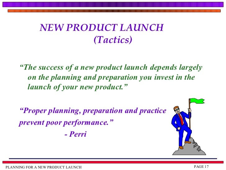 How to effectively launch a new product