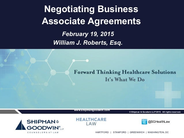 How to Effectively Negotiate a Business Associate Agreement: What\'s …