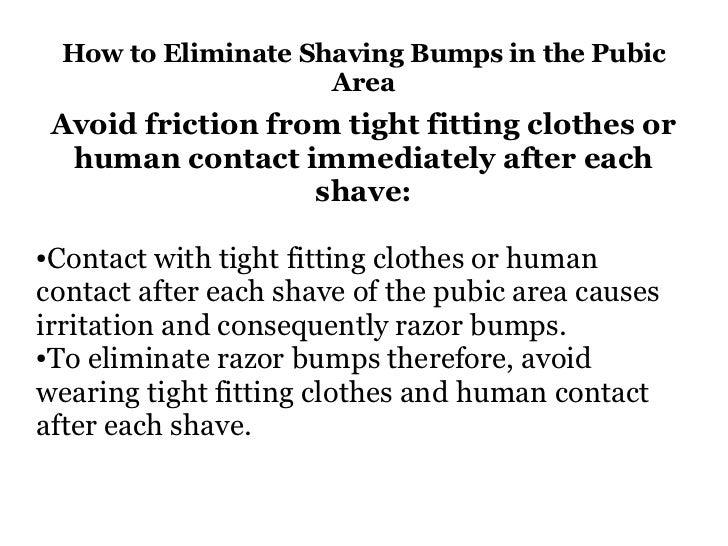How to prevent razor burn in pubic area