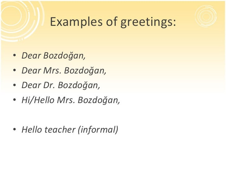 Examples of greetings ullidear bozdoan m4hsunfo