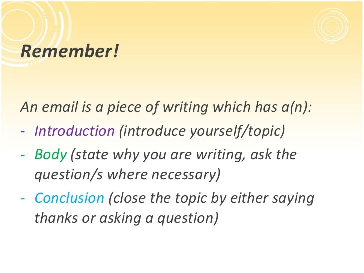 how to write a formal email to your teacher