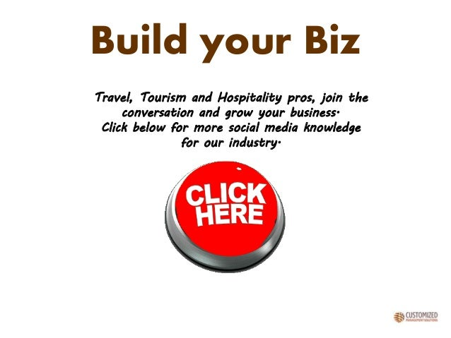 Build your Biz Travel, Tourism and Hospitality pros, join the conversation and grow your business. Click below for more so...