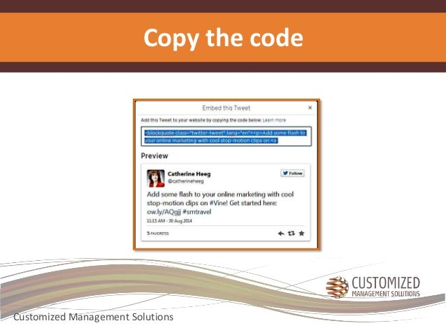 Copy the code  Customized Management Solutions