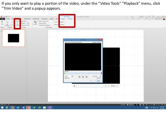 How to embed a youtube video into powerpoint using keepvid 14 the video is ready to play ccuart Gallery