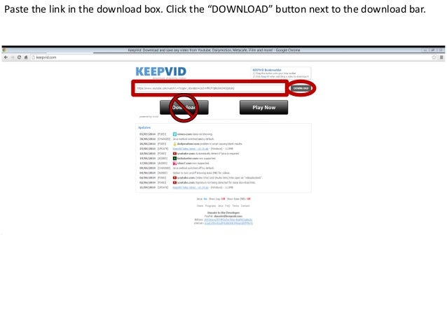 How to embed a youtube video into powerpoint using keepvid 4 ccuart Gallery