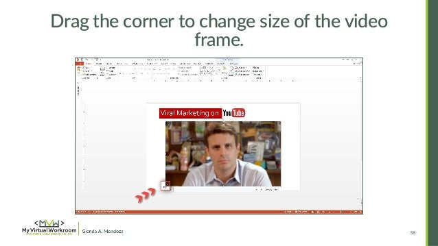 How to Embed & Edit YouTube Video in PowerPoint 2013