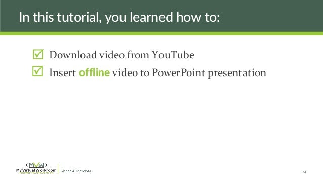 4 easy ways to embed youtube videos for awesome powerpoint.