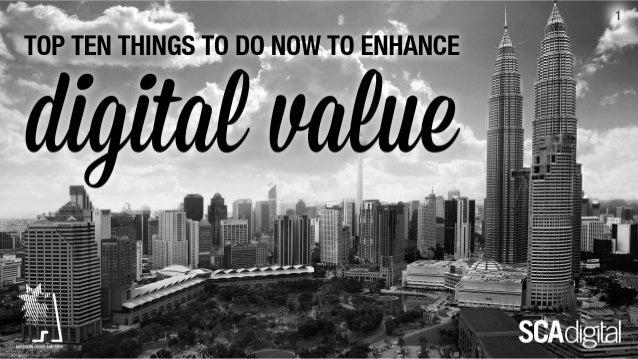 How to enhance Digital Value