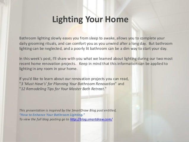 Lighting Your Bathroom how to enhance your bathroom lighting
