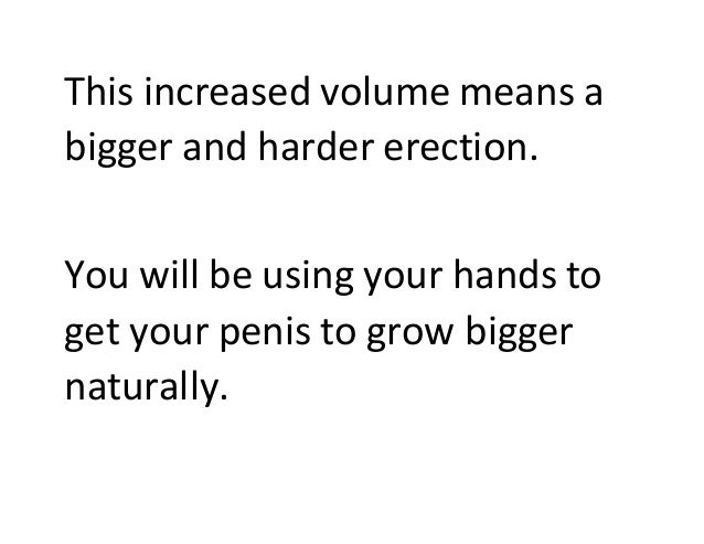 Hand exercises for bigger penis