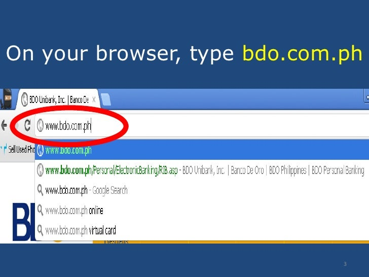 how to cancel bdo online banking