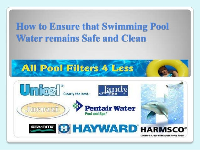 How to Ensure that Swimming Pool Water remains Safe and Clean