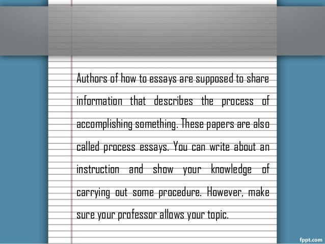 informative essay writing tips