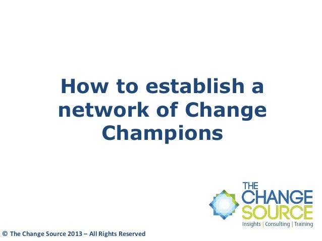 what is a network change