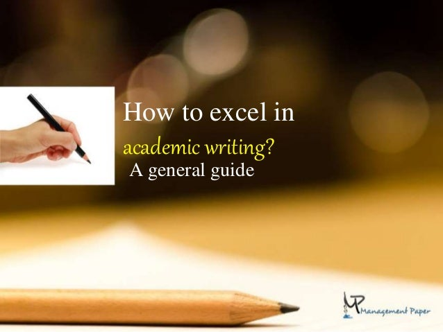 Easy guide to academic writing