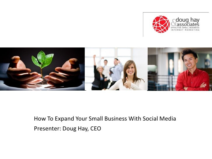 How to expand your small business with social media