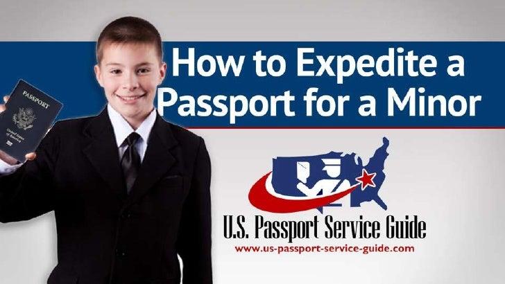 How to Expedite a Passport for a Minor