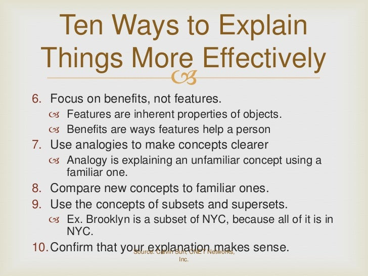 i ll explain it to you by deborah tannen As tannen notes, we all have unique communication styles,  your partner might  get the sense that you'd like to move closer, but could just as.