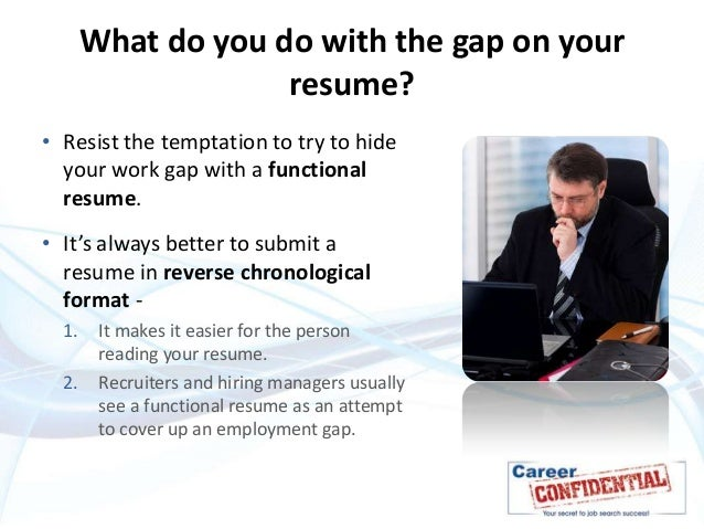 How to explain a gap in your work history