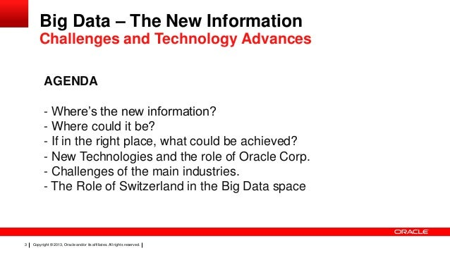 Oracle's BigData solutions Slide 2