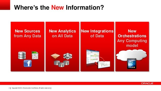 Oracle's BigData solutions Slide 3