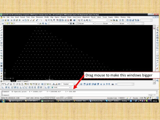 How to export auto cad coordinate for blast software design and blast…