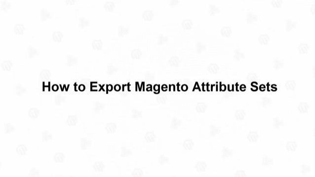 www.mag-manager.com/magento-video-tutorials/ You can also watch these Slides as Video Tutorial at: clickable link
