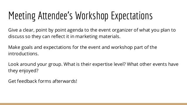 How To Effectively Facilitate A Workshop