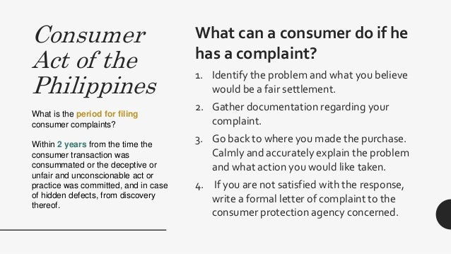 Consumer rights pertinent philippine laws cosmetics and devices 5 consumer act spiritdancerdesigns Choice Image