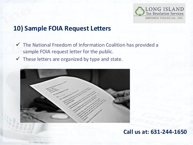 how to make an irs freedom of information foia request how to file