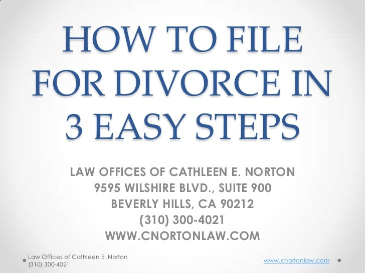 How to file for divorce in 3 easy steps how to file for divorce in 3 easy steps law offices of cathleen e norton solutioingenieria Gallery