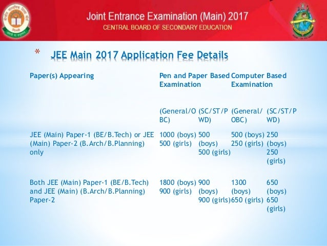 How to fill JEE Main 2017 Application Form? Application Form Jee Main on bee application form, job application form, ford application form, web application form, jet application form, jon application form, cat application form,