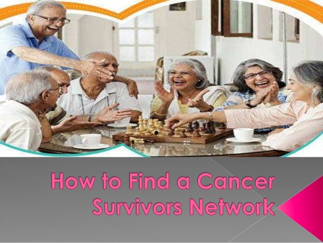 Many men and women diagnosed with cancer look for a support group that could help them in coping and managing their sympto...