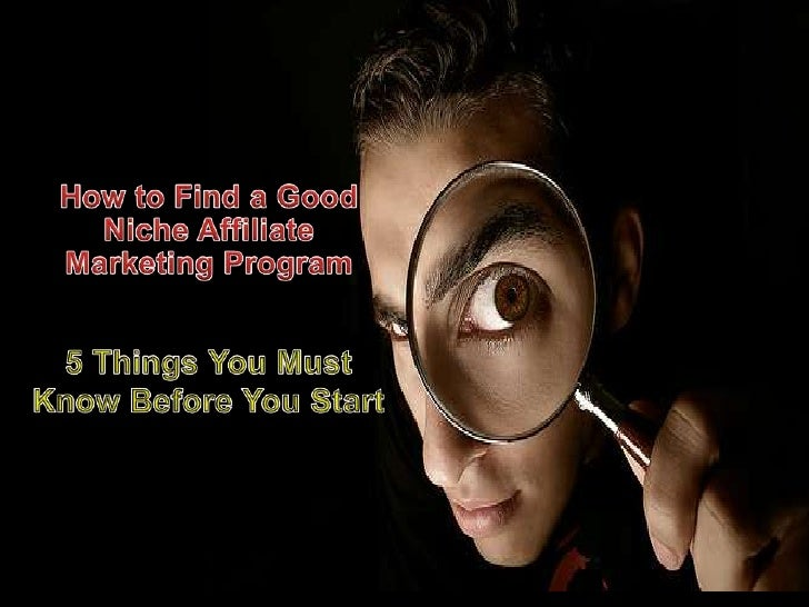 I usually recommend them tostart with affiliate marketingprogram because there is nocapital required and nofinancial risk ...