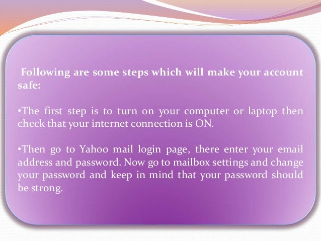 How to find a hacked yahoo mail account ?