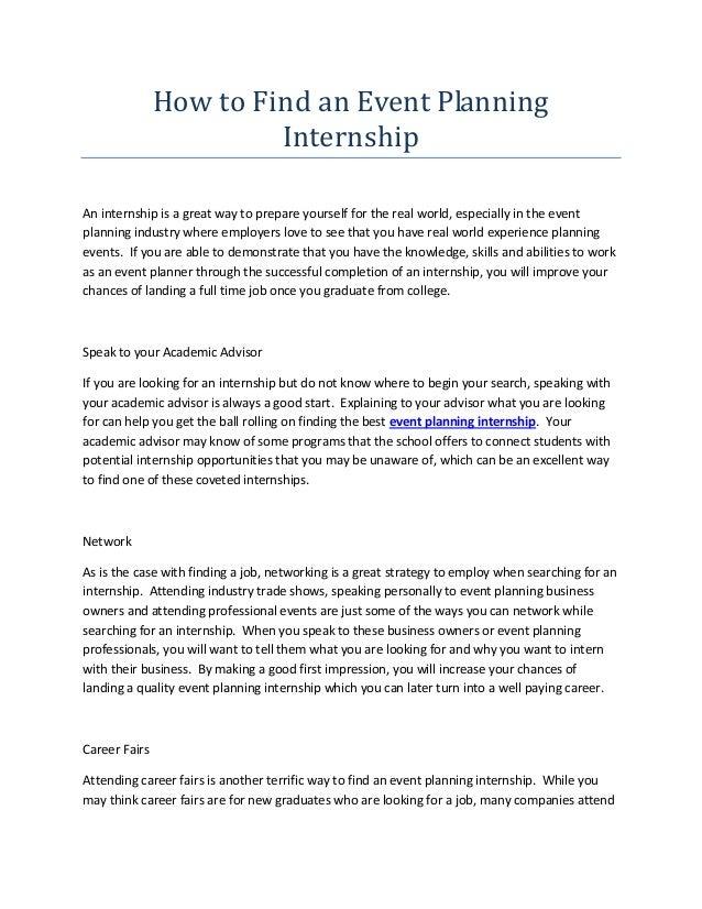 letter of intent internship