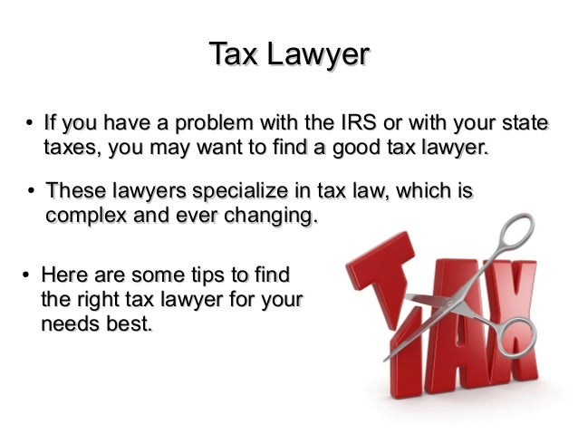 Image result for tips select tax lawyer