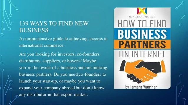find business partner number
