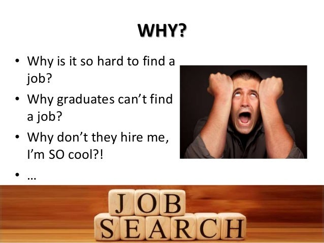 hard to find a job