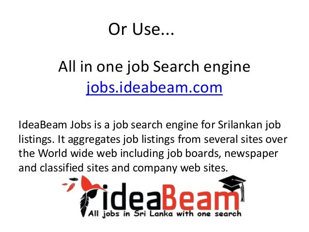 job sites sri lanka