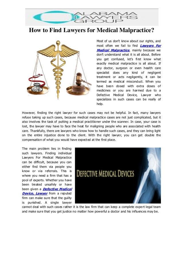 Medical Malpractice Lawyer - Medical Malpractice Attorney ...