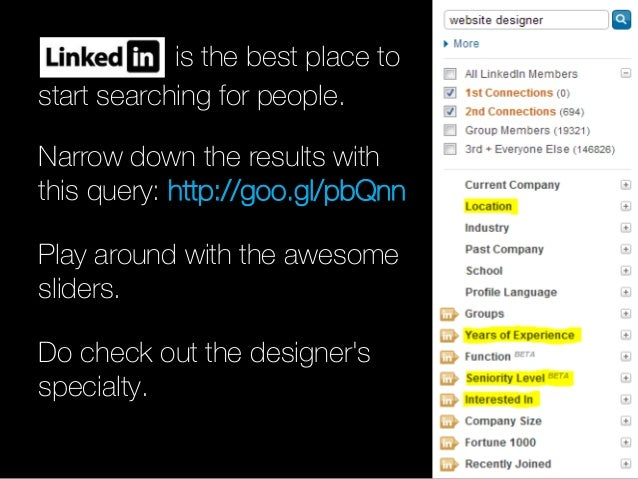 How to find the right designer for your next big thing? Slide 3