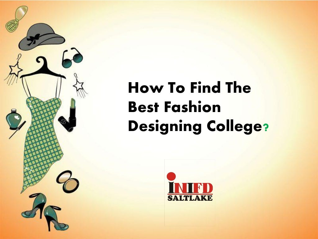 How to Find the Best Fashion Designing College