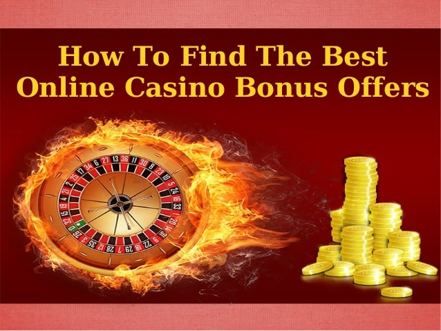 the best online casino offers