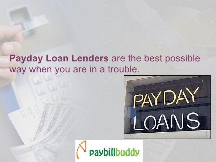 How To Find The Best Payday Loan Lenders?