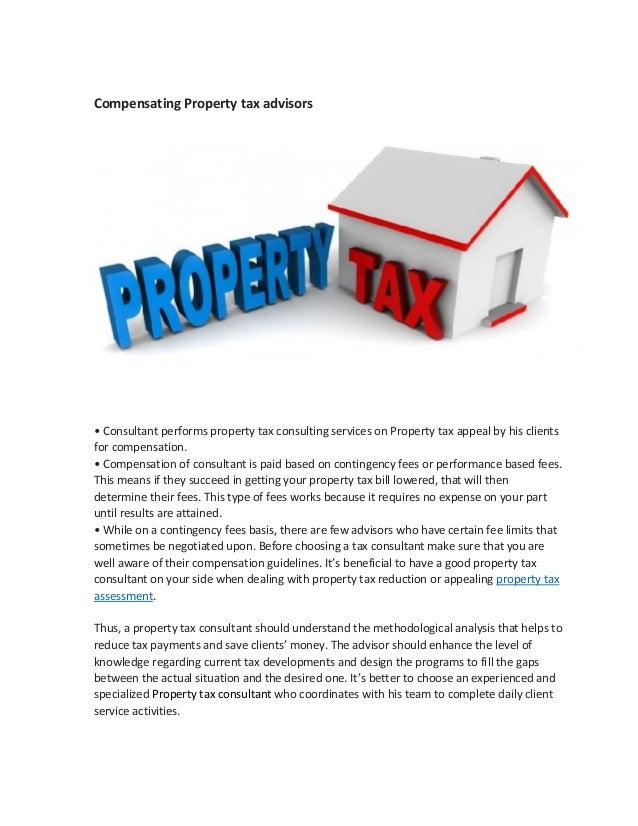 How to find the best property tax consultant